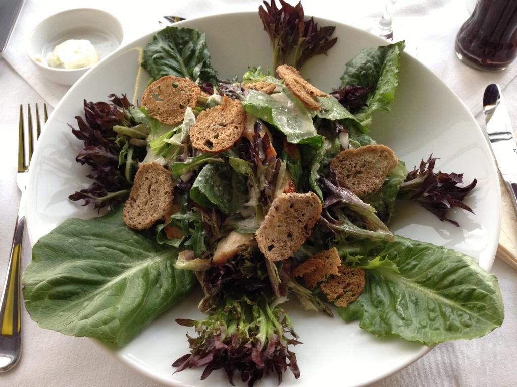 Cézár saláta csirkével