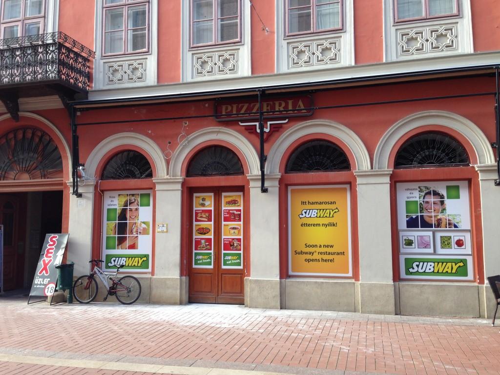 Subway, Szeged, Kárász utca